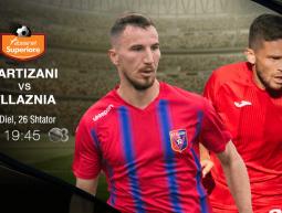 Partizani vs. Vllaznia, e diel, ora 19:45, SS3HD